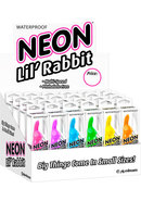 Neon Lil Rabbit Bullet Waterproof Assorted 24 Each Per...