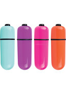 Vooom Bullets Mini Vibes Waterproof Assorted Colors 20 Each...