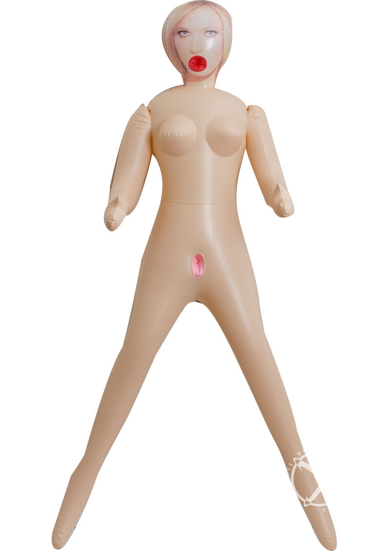 Vivid Briana Blow Up Doll 3 Hole