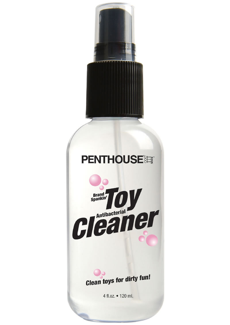 Penthouse Brand Spankin Toy Cleaner Spray 4 Ounce