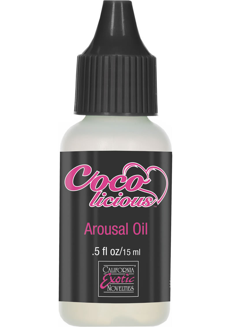 Cocolicious Arousal Oil .5 Ounce - Bulk